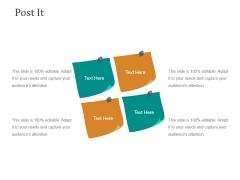 Post It Ppt PowerPoint Presentation Visuals