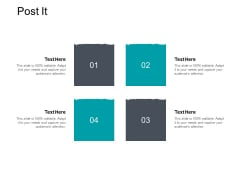 Post It Strategy Planning Ppt PowerPoint Presentation Gallery Maker