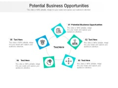 Potential Business Opportunities Ppt PowerPoint Presentation Inspiration Portfolio Cpb Pdf