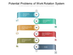 Potential Problems Of Work Rotation System Ppt PowerPoint Presentation Gallery Layout Ideas PDF