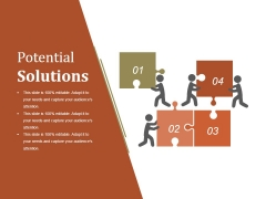 Potential Solutions Ppt PowerPoint Presentation Summary