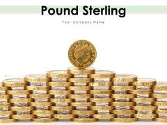 Pound Sterling British Coins Placed British Pound Coins Ppt PowerPoint Presentation Complete Deck
