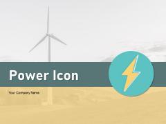 Power Icon Solar Energy Solar Panels Ppt PowerPoint Presentation Complete Deck