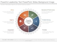 Powerful Leadership Tool Powerpoint Slides Background Image