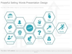Powerful Selling Words Presentation Design
