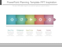 Powerpoint Planning Template Ppt Inspiration