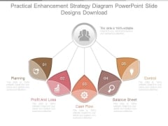 Practical Enhancement Strategy Diagram Powerpoint Slide Designs Download