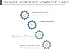 Practice And Coaching Strategy Management Ppt Images