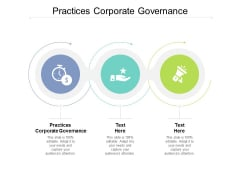 Practices Corporate Governance Ppt PowerPoint Presentation Inspiration Guide Cpb