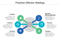 Practices Effective Meetings Ppt PowerPoint Presentation Model Graphics Pictures Cpb