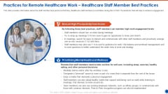 Practices For Remote Healthcare Work Healthcare Staff Member Best Practices Rules PDF