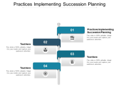 Practices Implementing Succession Planning Ppt PowerPoint Presentation Outline Graphics Cpb