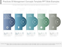 Practices Of Management Concepts Template Ppt Slide Examples