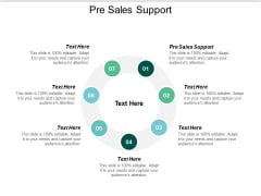 Pre Sales Support Ppt PowerPoint Presentation Styles Infographic Template Cpb