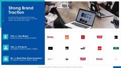 Pre Series A New Venture Financing Pitch Deck Strong Brand Traction Ppt File Master Slide PDF
