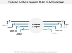 Predictive Analysis Business Rules And Assumptions Ppt PowerPoint Presentation Inspiration Information