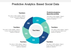 Predictive Analytics Based Social Data Ppt PowerPoint Presentation Good Cpb