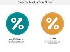 Predictive Analytics Case Studies Ppt PowerPoint Presentation Summary Examples Cpb