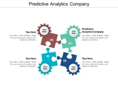 Predictive Analytics Company Ppt PowerPoint Presentation Pictures Grid Cpb
