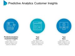 Predictive Analytics Customer Insights Ppt PowerPoint Presentation Model Graphics Example Cpb