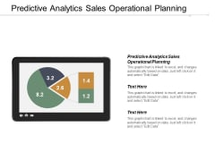Predictive Analytics Sales Operational Planning Ppt PowerPoint Presentation Icon Grid Cpb