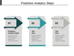 Predictive Analytics Steps Ppt PowerPoint Presentation Outline Slide Cpb