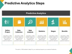 Predictive Analytics Steps Ppt PowerPoint Presentation Styles Guidelines