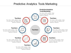 Predictive Analytics Tools Marketing Ppt PowerPoint Presentation Gallery Information Cpb