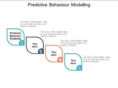 Predictive Behaviour Modelling Ppt PowerPoint Presentation Inspiration Deck Cpb
