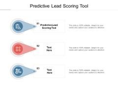 Predictive Lead Scoring Tool Ppt PowerPoint Presentation Inspiration Slide Cpb
