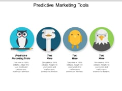 Predictive Marketing Tools Ppt PowerPoint Presentation Infographic Template Slide Cpb