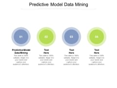 Predictive Model Data Mining Ppt PowerPoint Presentation Summary Cpb