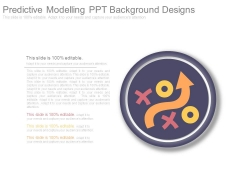 Predictive Modelling Ppt Background Designs