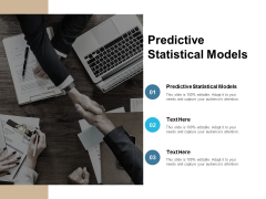 Predictive Statistical Models Ppt PowerPoint Presentation File Background Image Cpb