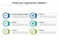 Preliminary Opportunity Validation Ppt PowerPoint Presentation Show Display Cpb