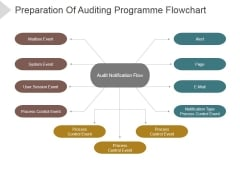 Preparation Of Auditing Programme Flowchart Ppt PowerPoint Presentation Picture