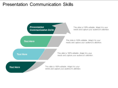 Presentation Communication Skills Ppt PowerPoint Presentation Inspiration Design Inspiration Cpb