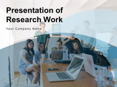 Presentation Of Research Work Business Research Finance Ppt PowerPoint Presentation Complete Deck