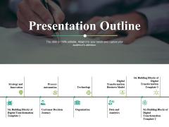 Presentation Outline Ppt PowerPoint Presentation Professional Background Images