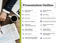 Presentation Outline Ppt PowerPoint Presentation Professional Grid
