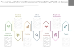 Preservance And Achievement Enhancement Template Powerpoint Slide Designs