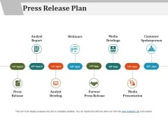 Press Release Plan Ppt PowerPoint Presentation Professional Images