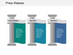Press Release Ppt PowerPoint Presentation Slides Gridlines Cpb
