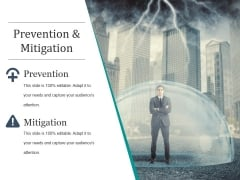 Prevention And Mitigation Ppt PowerPoint Presentation Deck