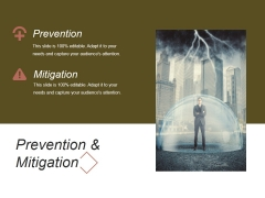 Prevention And Mitigation Ppt PowerPoint Presentation Diagrams