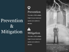 Prevention And Mitigation Ppt PowerPoint Presentation Visuals