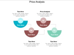 Price Analysis Ppt PowerPoint Presentation Infographics Show Cpb