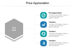 Price Appreciation Ppt PowerPoint Presentation Icon Pictures Cpb