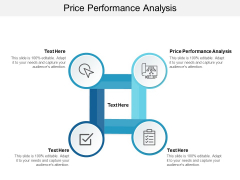 Price Performance Analysis Ppt PowerPoint Presentation Portfolio Smartart Cpb