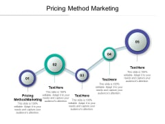 Pricing Method Marketing Ppt PowerPoint Presentation Styles Visuals Cpb